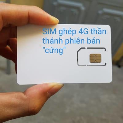 sim ghép 4g phiên bản cứng giá chỉ 50k