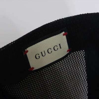 Mũ Gucci Tiger Print GG Supreme Baseball Hat